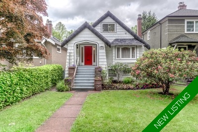 Kitsilano House for sale: 3 bedroom 2,098 sq.ft.
