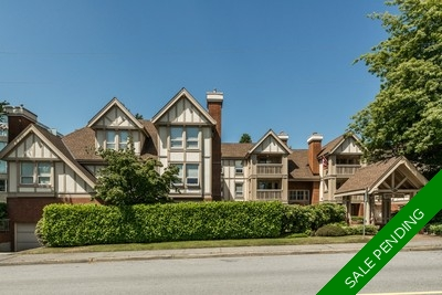 Dundarave Apartment for sale: Tudor Gardens 2 bedroom 951 sq.ft.